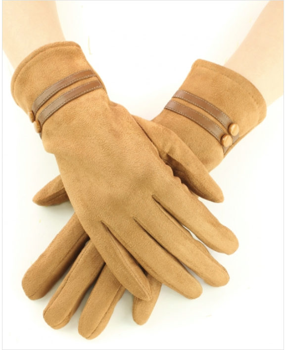02519- Suede Gloves