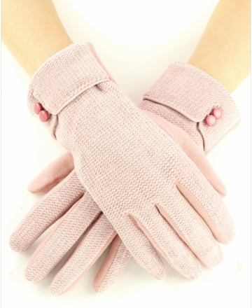 02520- Chenille Gloves