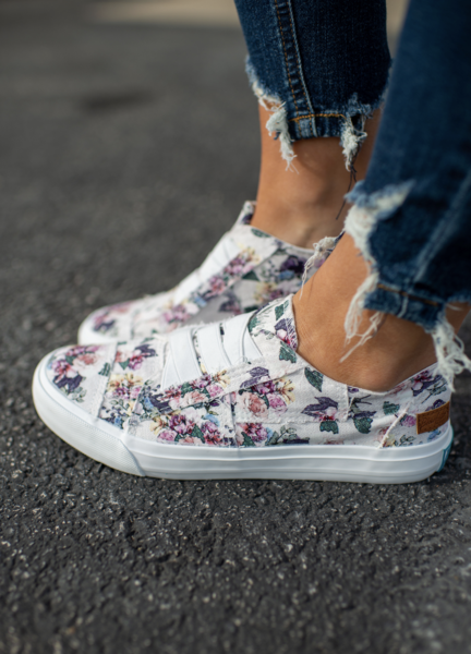 Marley Sneakers Off White Bella Print 01393
