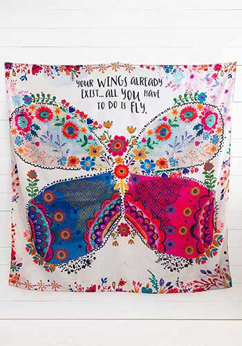 Your Wings Exist Tapestry 02058
