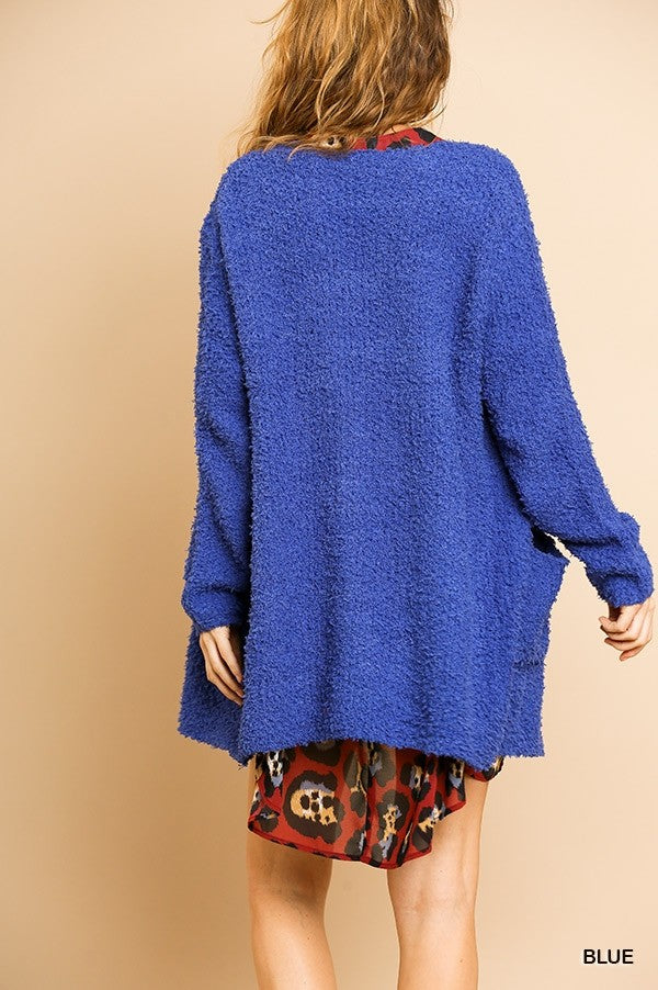Open Front Sweater Cardigan 02348