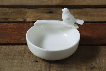 Ceramic Bird Bowl 02000
