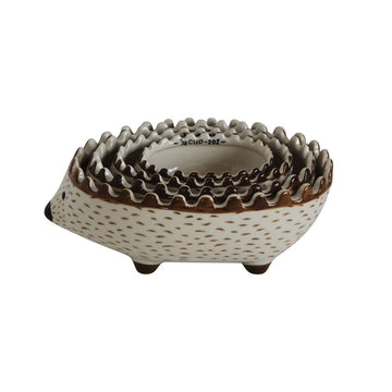 Hedgehog Measuring Cups 01628