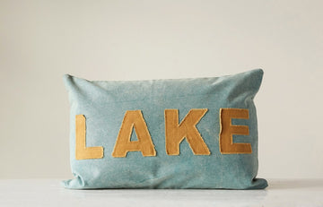 Appliqued Pillow