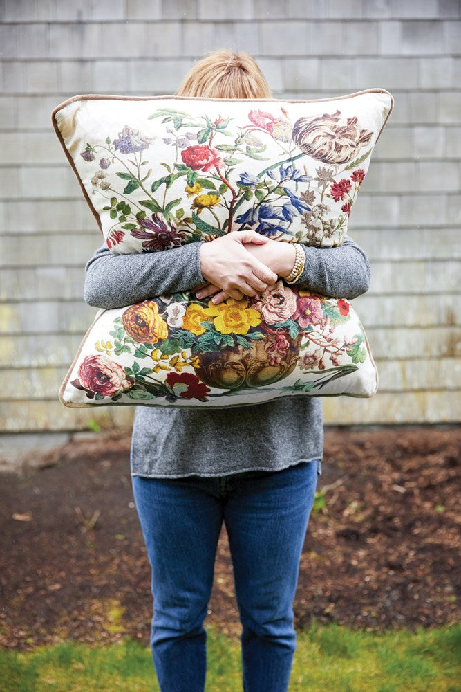 Cotton Printed Pillow 02307