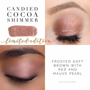 Candied Cocoa Shimmer ShadowSense Creme to Power Eyeshadow