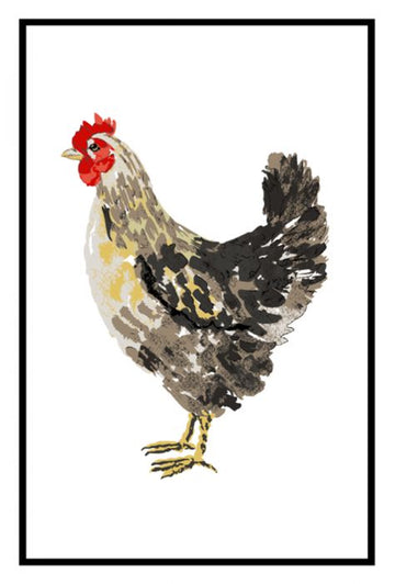 Add to Cart Rooster, Flour Sack Kitchen Towel 00823