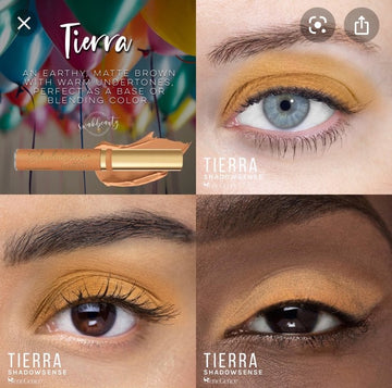 Tierra ShadowSense Creme to Power Eyeshadow