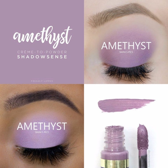 Amethyst ShadowSense Creme to Power Eyeshadow
