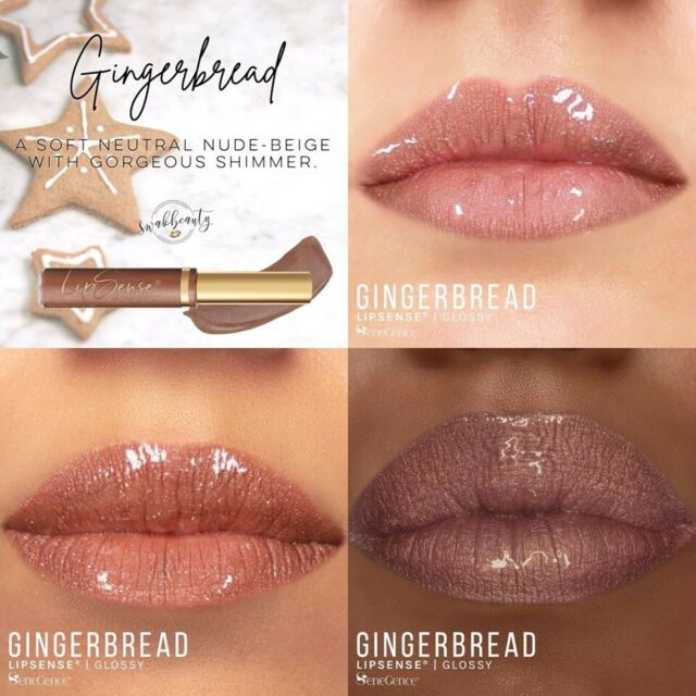 Gingerbread LipSense by SeneGence