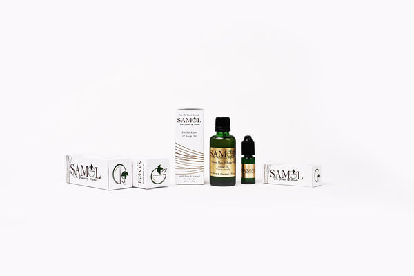 Herbal Hair & Scalp Oil