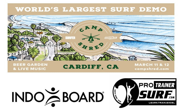 Indo Board and Pro Trainer Surf Join Forces For Camp Shred!
