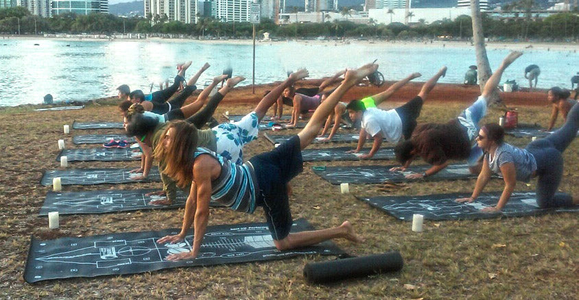 Group Pro Trainer Surf Class in Oahu
