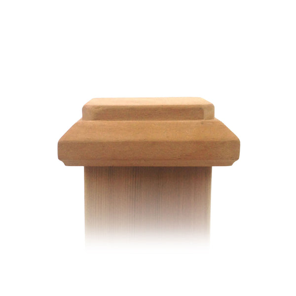 4x4 traditional original wood post cap