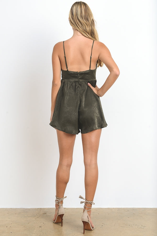 Forest Glaze Romper