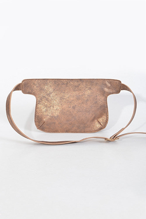 Metallic Fanny Pack