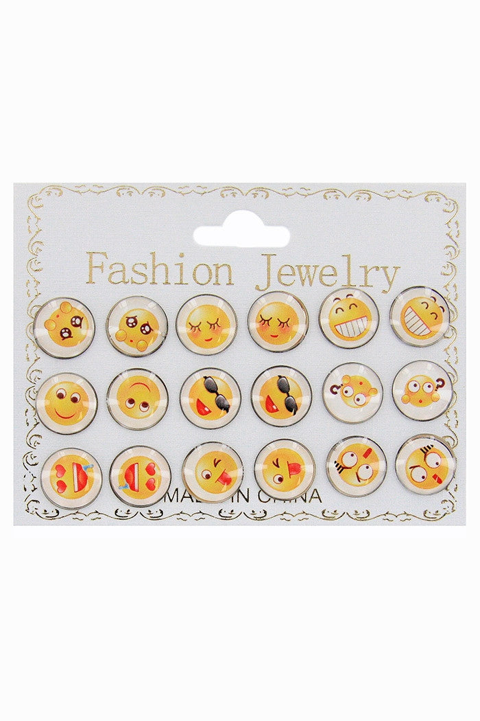 Emoji Earrings