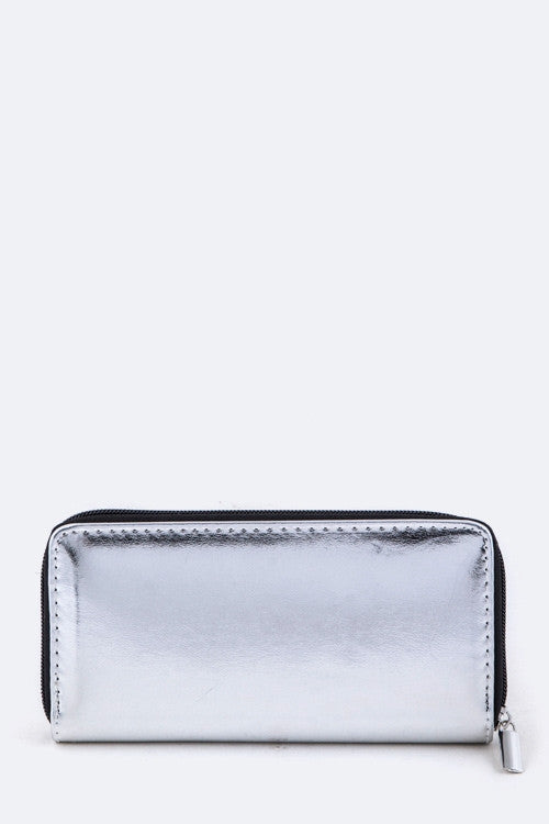 Metallic Lash Wallet