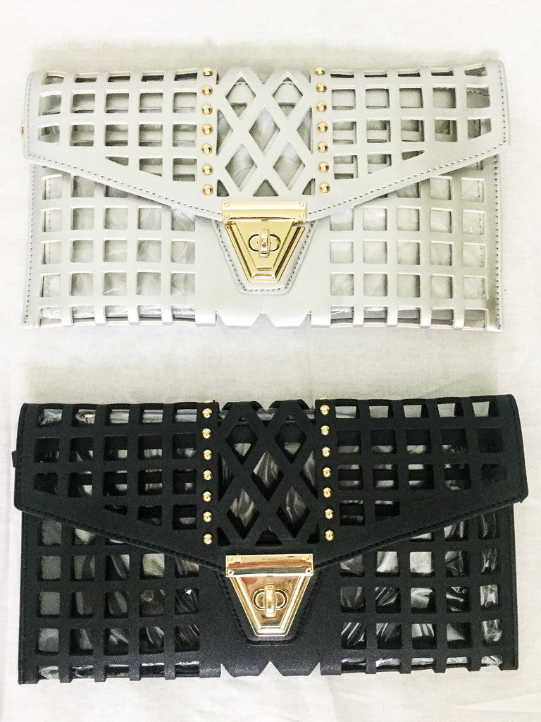 Laser-Cut Satchel