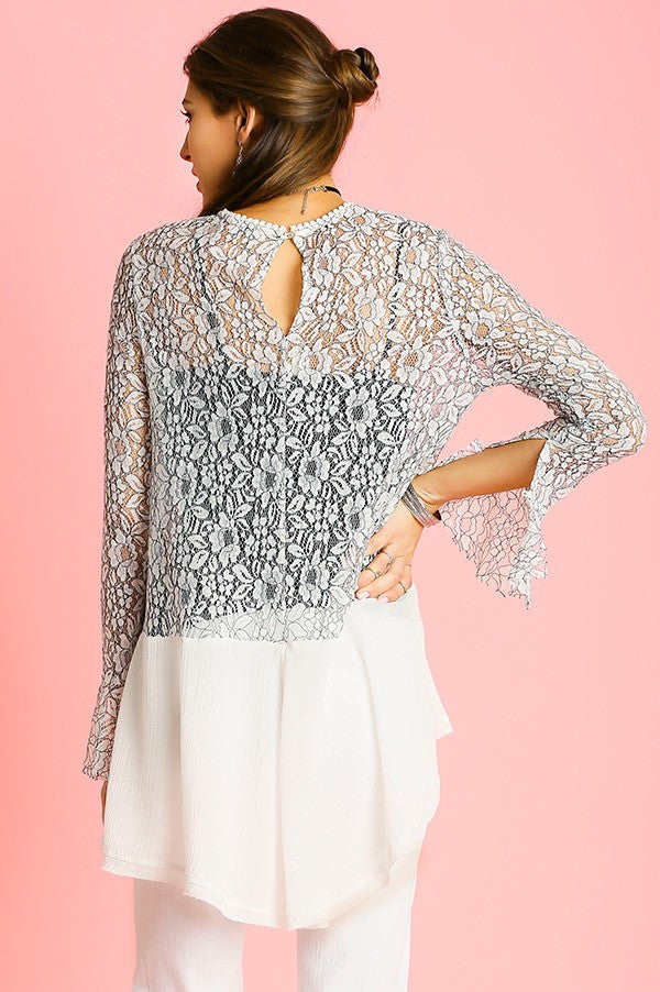 It's All in the Lace Tunic