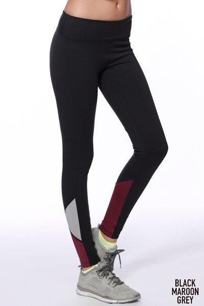 Colorblock Contrast Leggings