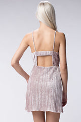 Pink Ice Corduroy Dress