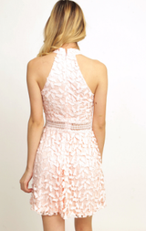 Lace Detailed Dress -Ivory