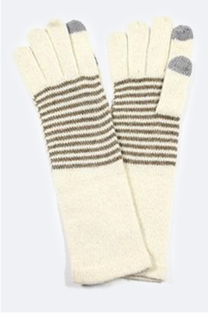 Touch Screen Gloves -Cream