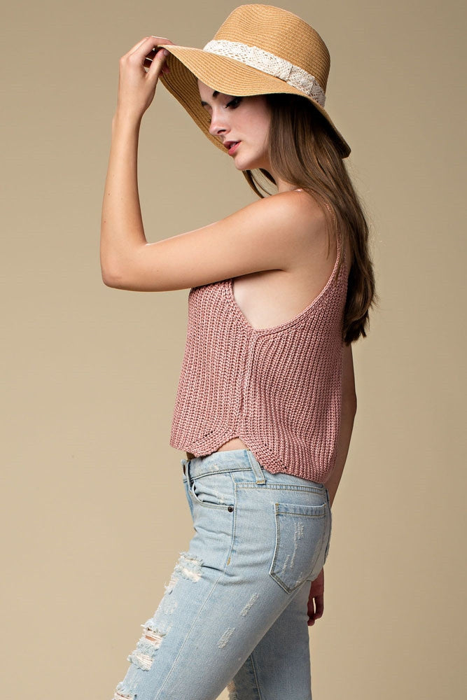 Sweater Knit Tank