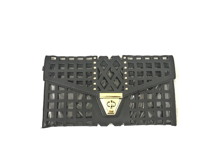 Laser-Cut Clutch/Satchel