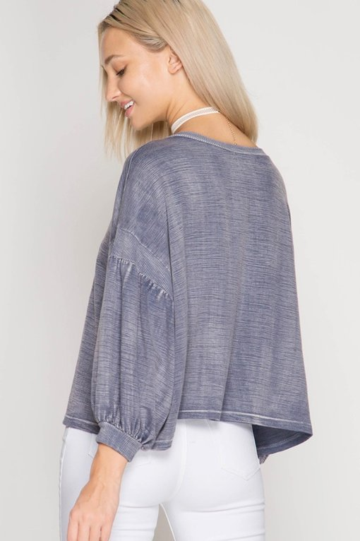 Mineral Wash Top
