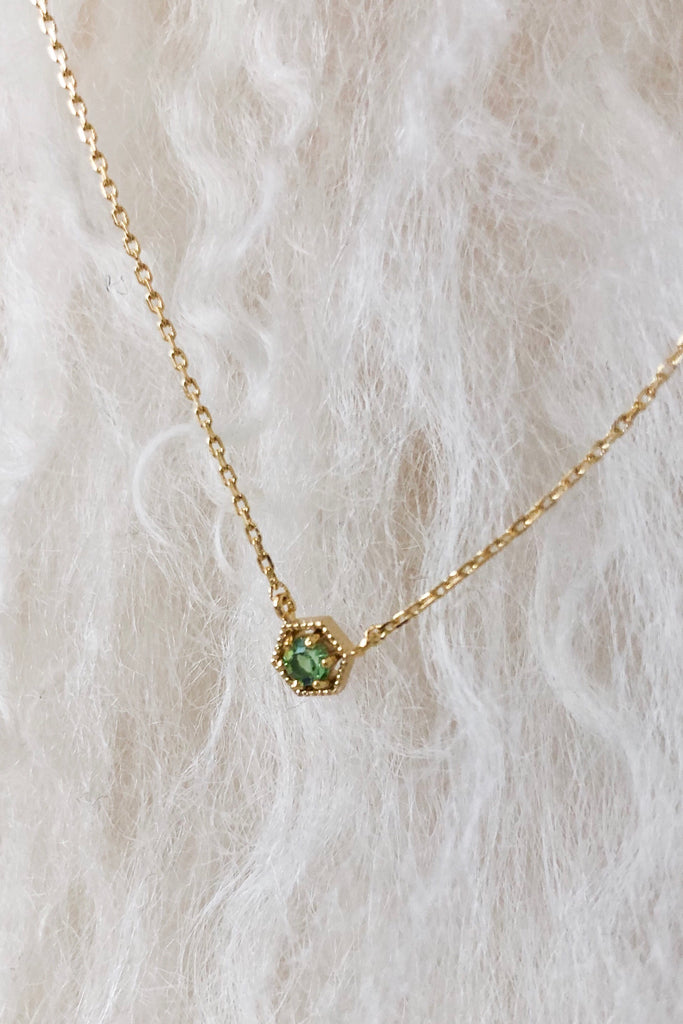 Birthstone Necklace -August