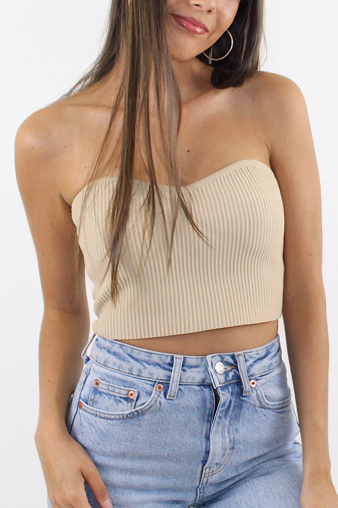 Ribbed Tube Top