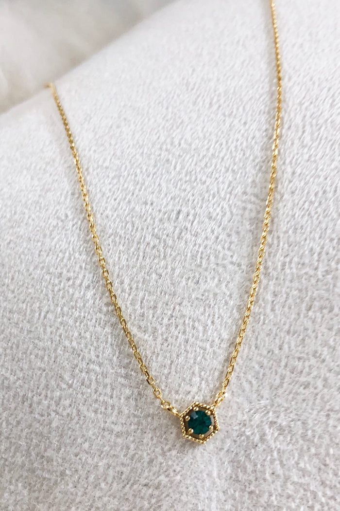 Birthstone Necklace -May