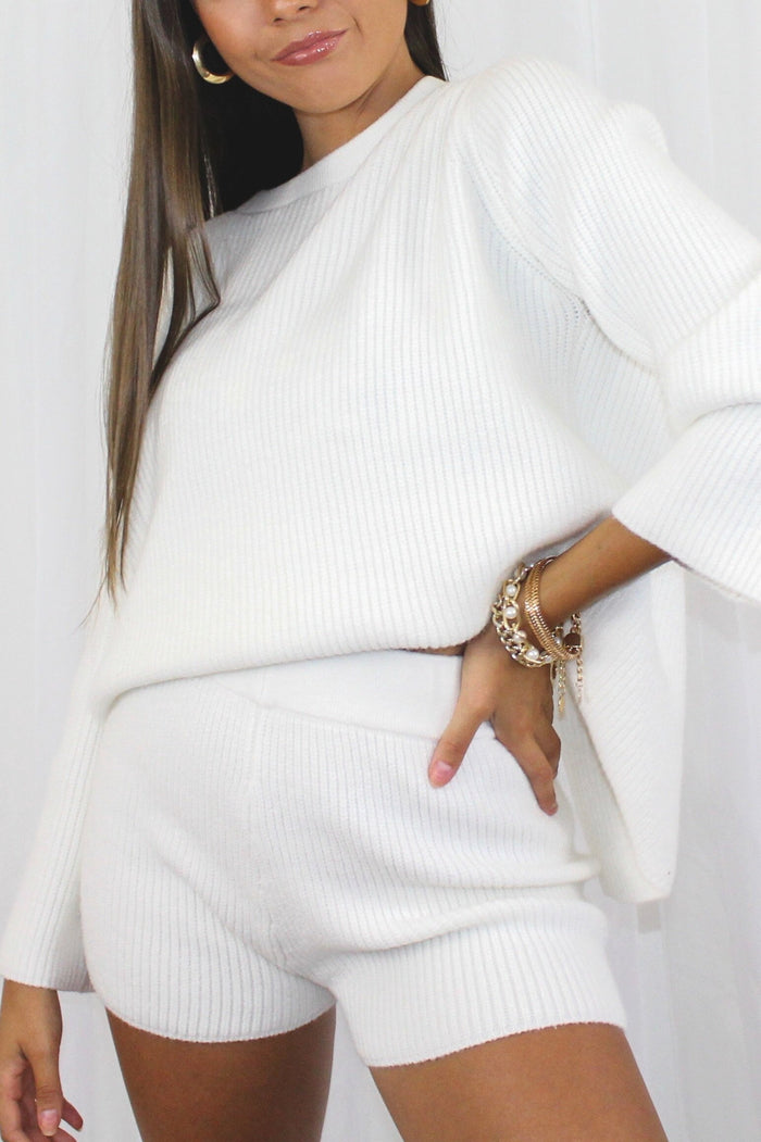Ivory Sweater Set