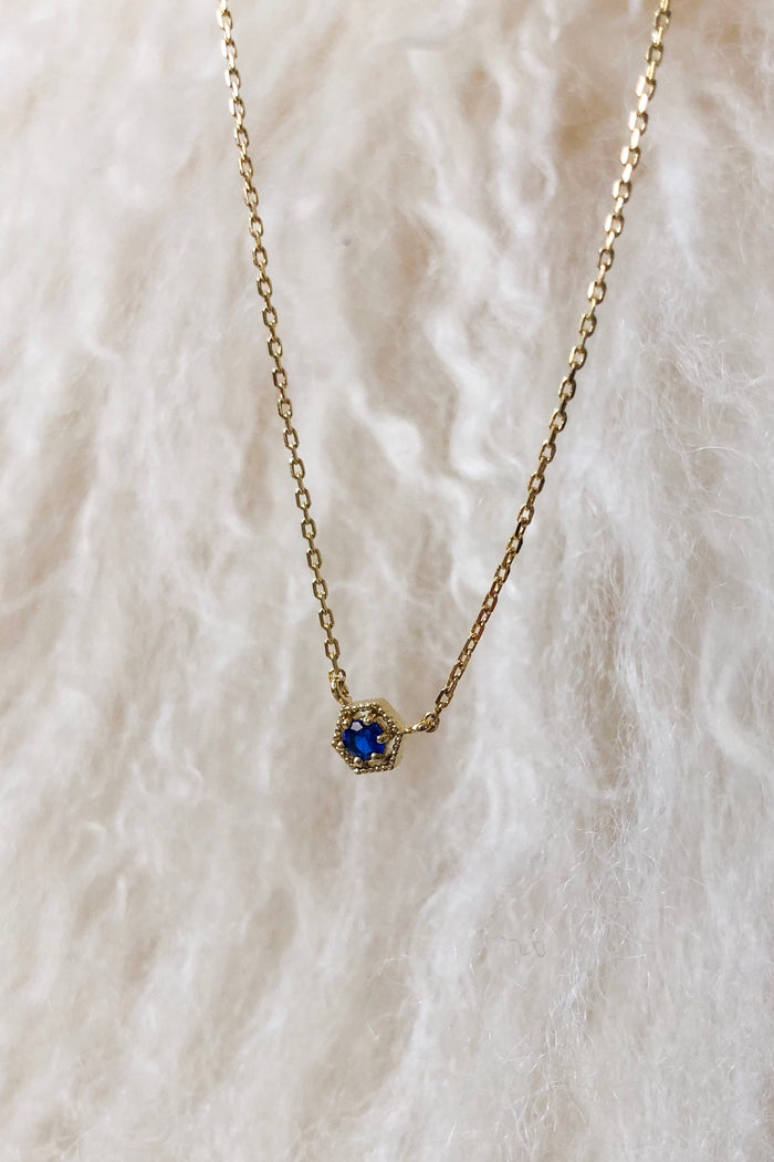 Birthstone Necklace -September