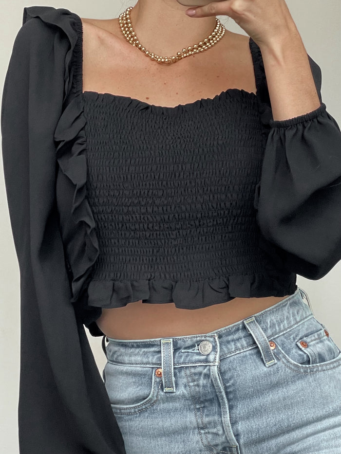 Ruffle Rodeo Blouse