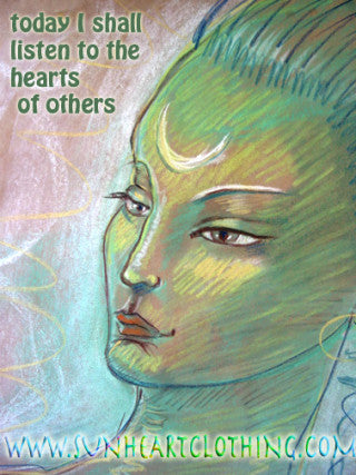 Today I Will Listen to the Hearts of Others Creativity Advice