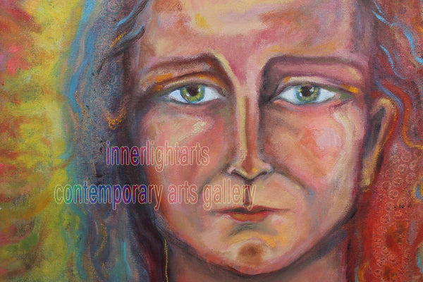 "Being Human the Representative of Humanity 24"" x 30"" Oil Painting"