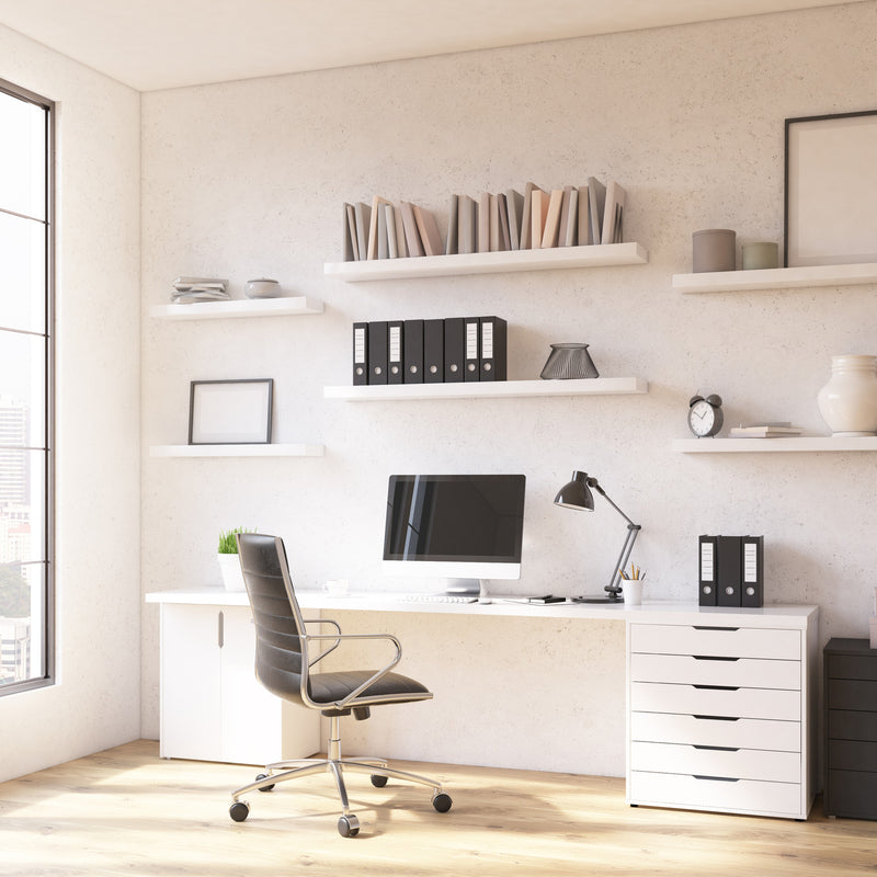 5 Designer Tricks to Take Your Home Office From Drab to Fab
