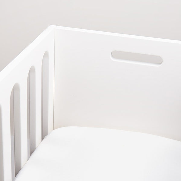 Organic Pima Cotton Bassinet Sheet  White