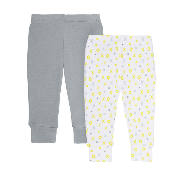 ABC-123 Baby Pants Set Grey