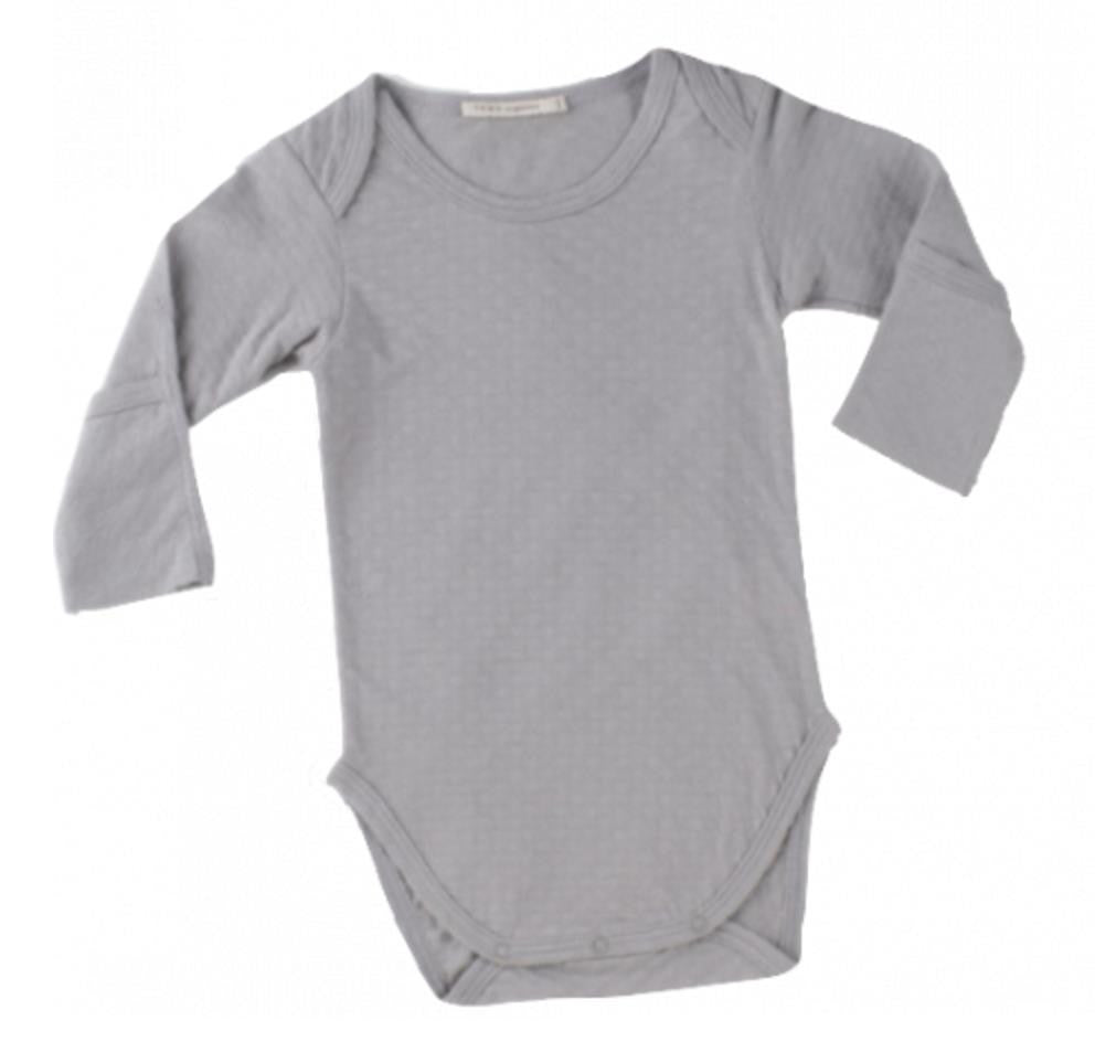 Crewneck Bodysuit with Hand Covers  Lead