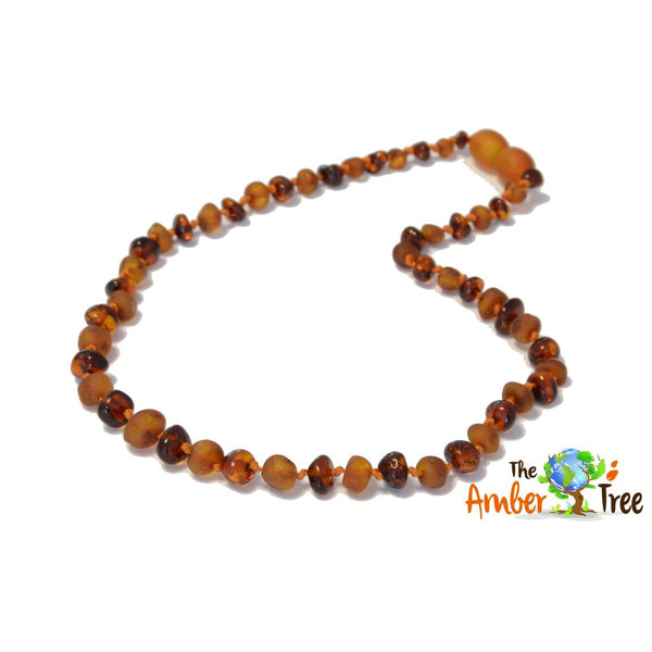 Polished/RAW Butterscotch Baltic Amber Necklace