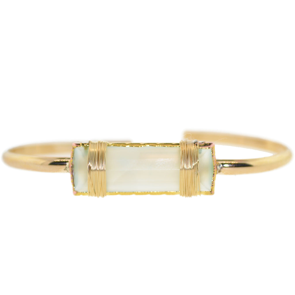 Royal Pastel Gem Cuff