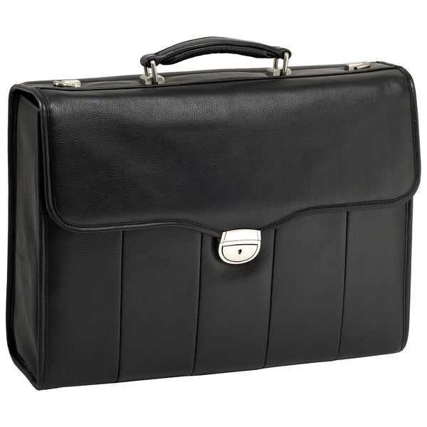 "McKleinUSA 15.4"" Leather Executive Laptop Briefcase"