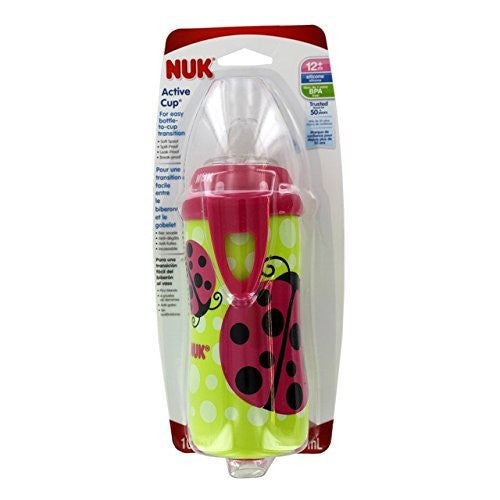 NUK Active Cup With Clip, 10oz - Assorted Colors