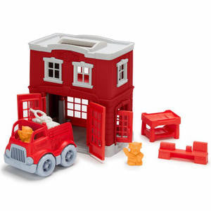 Fire Station Playset by Green Toys