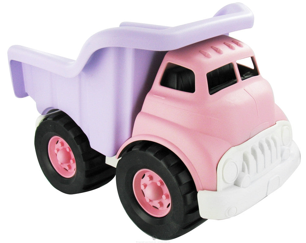 Dump Truck in Pink and Purple by Green Toys