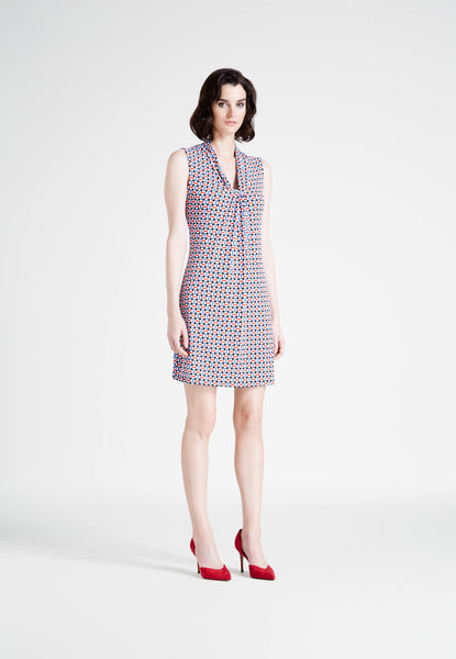 Sailor's Knot Dress in Mod Dot